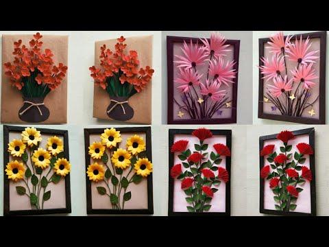 DIY 4 Best Home Decor ideas / Easy & Beautiful Wall Decor