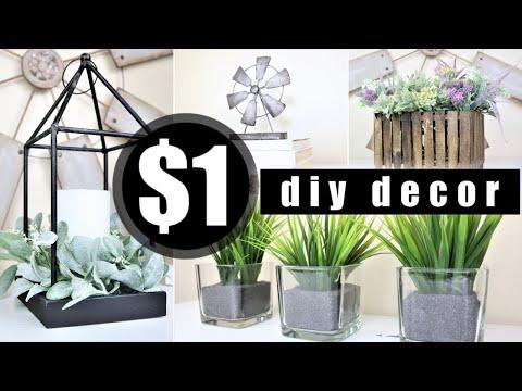 *NEW* DIY Home Decor | Dollar Tree DIYs | Easy Decor Ideas 2020