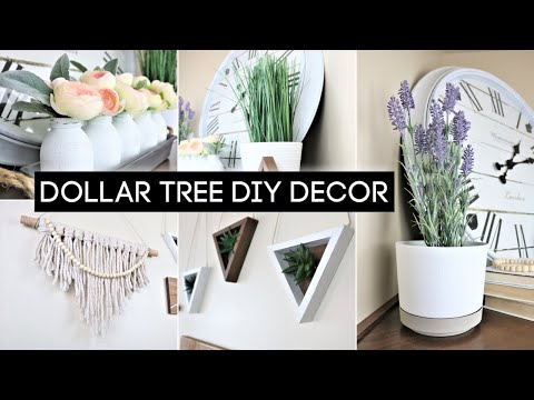 Dollar Tree DIY Home Decor | Boho Decor | *EASY* | 2020 ❤️
