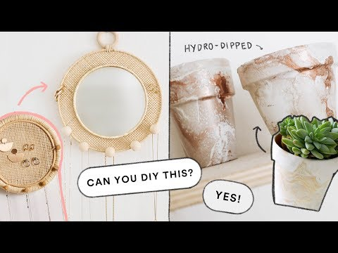 Creating DIY's You DM'd Me! – EASY Home Decor DIY Ideas