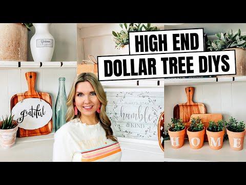 High End Dollar Tree DIY Home Decor – Dollar Tree Room Decor 2020
