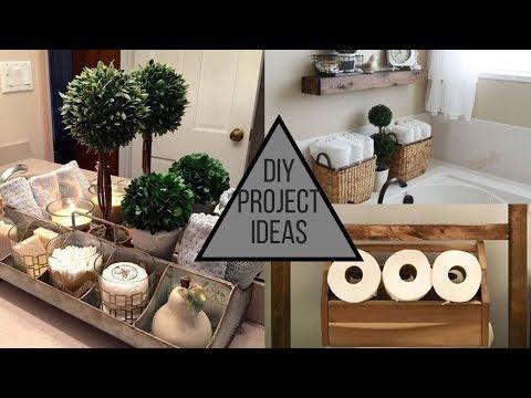 DIY Bathroom Decorating Ideas – Storage Solutions & More