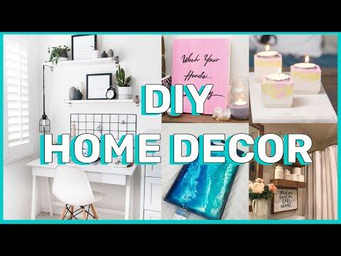 DIY HOME DECOR 2020! I easy ideas
