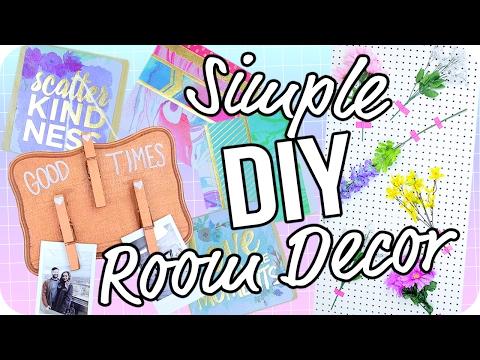 DIY Room Decor 2017! Cheap & Easy!