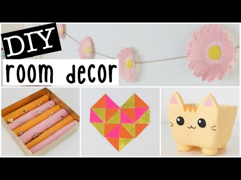 DIY Room Decor 2016 – Four EASY & INEXPENSIVE Ideas!