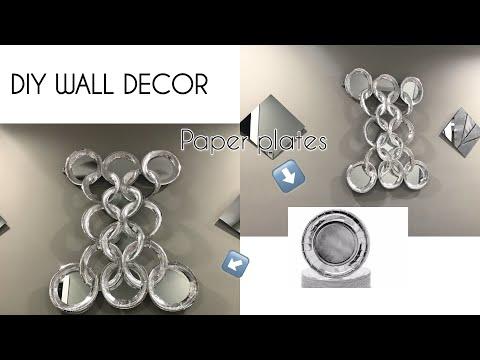 DIY HOME DECOR IDEAS| DIY WALL DECOR | EASY