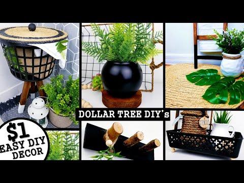 5 NEW DIY's HOME DECOR | DOLLAR TREE DIY's 2020 | Anthropologie & West Elm Inspired