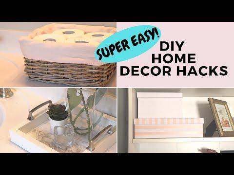 Easy DIY IKEA HOME DECOR HACKS | Super Easy Room Decor!