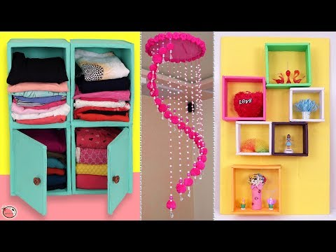 10 Easy Recycling Ideas You Must Try || DIY Room Decor 2019 !!!