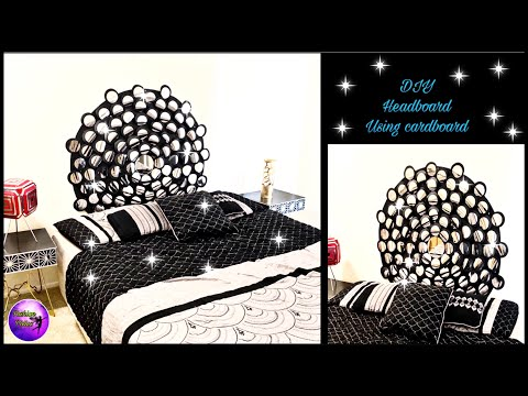 ❣️DIY QUICK AND EASY HEADBOARD USING CARDBOARD❣️| HOME DECORATING IDEAS | FASHION PIXIES