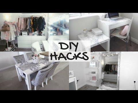 5 EASY & CHEAP DIY HACKS | HOME DECOR