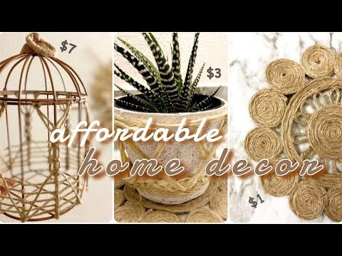 EASY INEXPENSIVE DIY HOME DECOR | **Budget friendly!**
