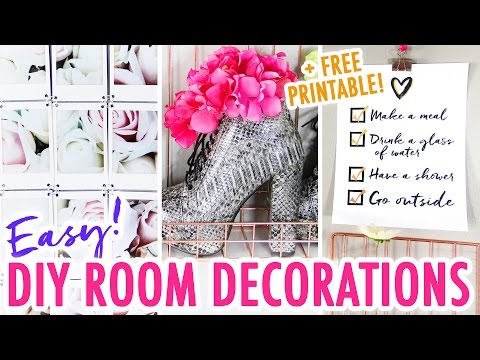 3 Easy DIY Room Decor Ideas – Redesign Your Room for the New Year! – HGTV Handmade