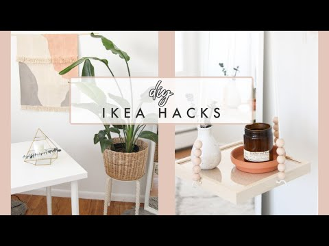 DIY Ikea Hacks for 2020 | Easy + Affordable Home Decor