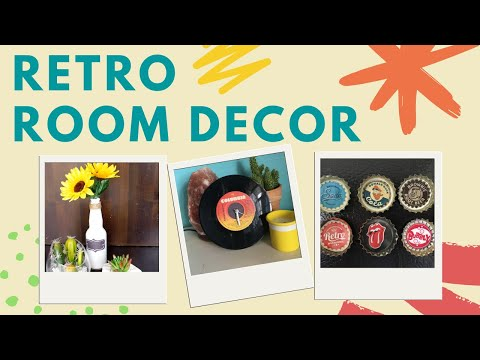 DIY Retro & Vintage Room Decor