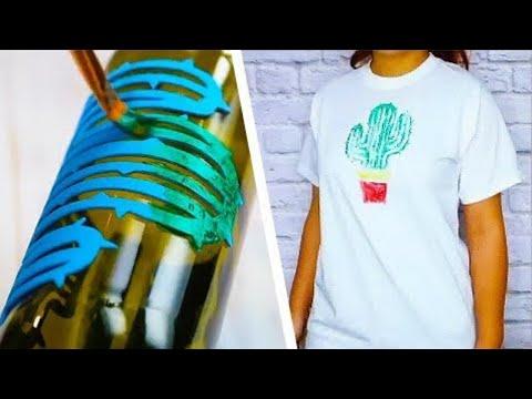 6 Easy DIY Crafts | Crafts That Anyone Can Make | DIY Home Decor | T-Shirt DIYs | Craft Factory