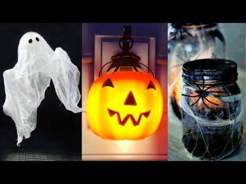 DIY ROOM DECOR! 14 Easy Crafts Ideas at Home for Halloween