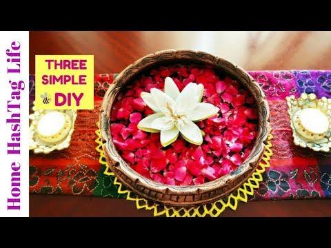 Diwali Home  Decor Ideas & 3 Simple Easy DIY!  Home HashTag Life