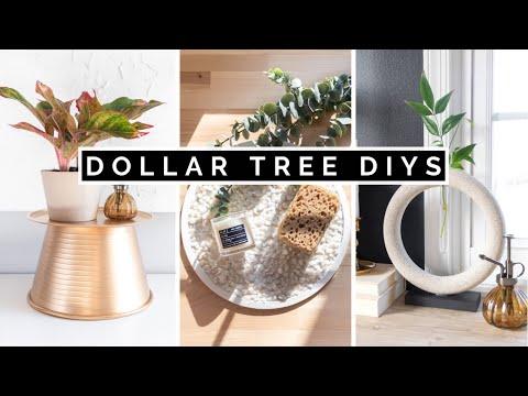 DIY DOLLAR TREE HOME DECOR | $1 AESTHETIC AND EASY 2021
