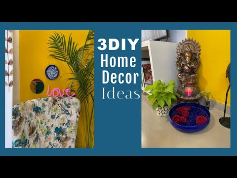 3 Easy DIY Home Decor Ideas | Huge Giveaway Worth Rs.5000 Aamzon Gift Voucher | Organizopedia