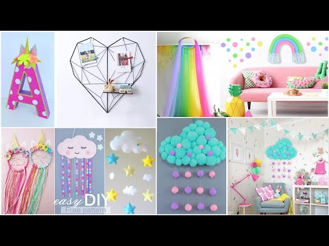 5 Home decor ideas DIY 2020 / How to makeover children's room without spending money