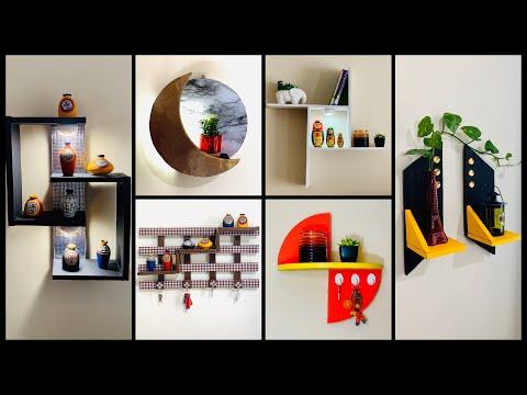 6 Hyper Easy & Elegant Wall Shelves Ideas gadac diy  Home Decor Ideas  Room Decorating Ideas