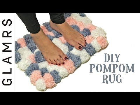 DIY Pom Pom Rug – Easy & Creative | Awesome DIY Home Decor Ideas
