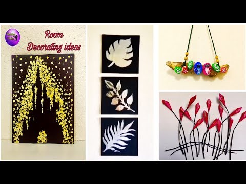 4 Easy DIY – Room decor ideas – Must try | Fashion pixies | waste material craft ideas