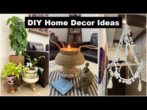 Easiest DIY Home Decor Ideas + GIVEAWAY | Best out of Waste Ideas | Organizopedia