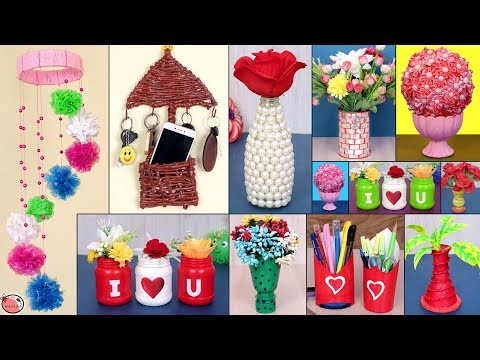 11 Easy UseFull… Best Out Of Waste Idea 2019 – DIY Home Decor Projects !!!