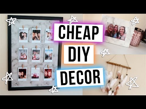 Cheap & Easy DIY Room Decor!! | ohhitsonlyalice