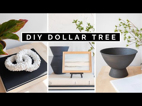 DOLLAR TREE DIY HOME DECOR 2021 | $1 AFFORDABLE AND EASY