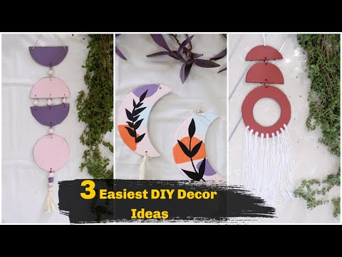 #homedecor 3 Easy DIY Decor Ideas to Enhance your Home | DIY Home Decor Ideas