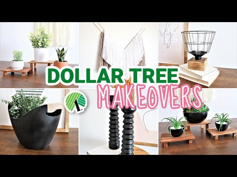 *EASY* High End Dollar Store DIYs! | DIY Home Decor ($1 DIY IDEAS)