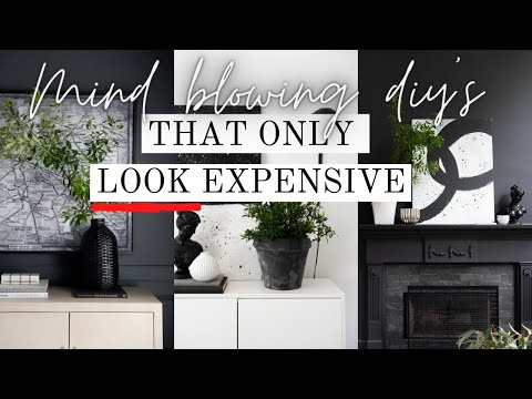 MIND BLOWING DIY'S that only LOOK EXPENSIVE | Lux for Less Home Decor DIY ideas | IKEA Hack