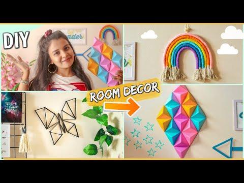 Cute DIY ROOM DECOR IDEAS Under ₹100 | Unique & Popular Under Budget Room Decorations at Home !! ✨🌈
