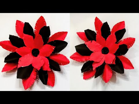 Easy diy paper flower / Home decoration idea / How to make paper flower / craft ideas 2021