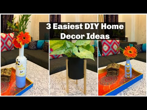 3 Easiest DIY Home Decor Ideas from the Waste Material | DIY Home Decor | Organizopedia
