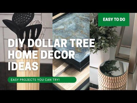 DIY Dollar Tree Home Decor Ideas – Easy & Affordable