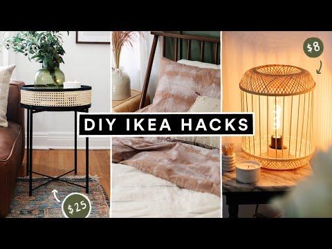 DIY IKEA HACKS – Affordable DIY Room Decor + Furniture Hacks for 2021!