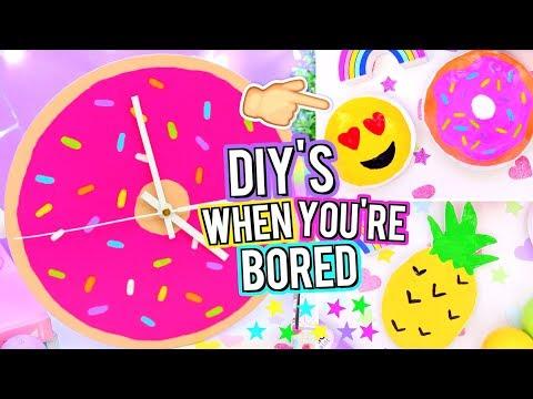 DIY ROOM DECOR To Do When You're BORED! Easy DIY Room Decor Ideas!