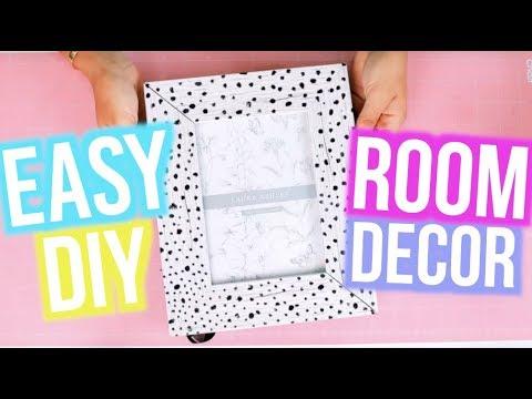 DIY Room Decor 2018! Cute and Easy Ideas For Teens | MyLifeAsEva