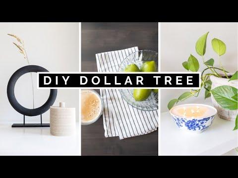 DIY DOLLAR TREE HOME DECOR + *NEW* DOLLAR TREE HAUL 2021