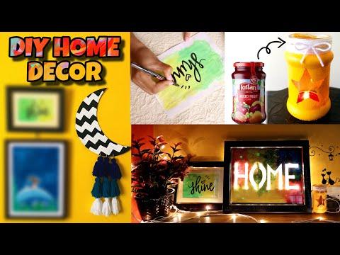 4 EASY DIY – HOME DECOR IDEAS | Low costல் வீட்டை அழகு படுத்தும் easy ideas