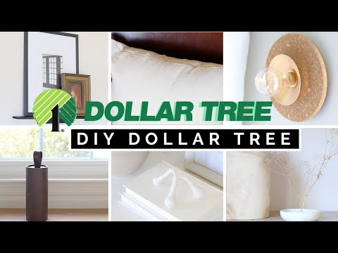 NEW DIY HIGH END DOLLAR TREE HOME DECOR | HIGH END, EASY, & NOT CHEESY ROOM DECOR